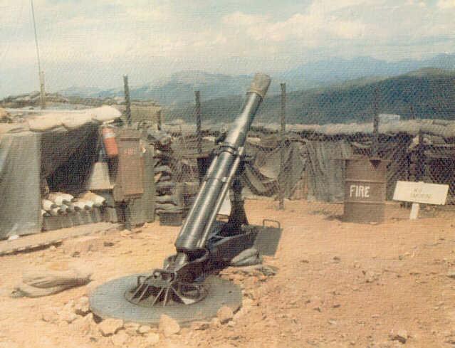 Vietnam Mortar Fire : Short round thelastminstrel